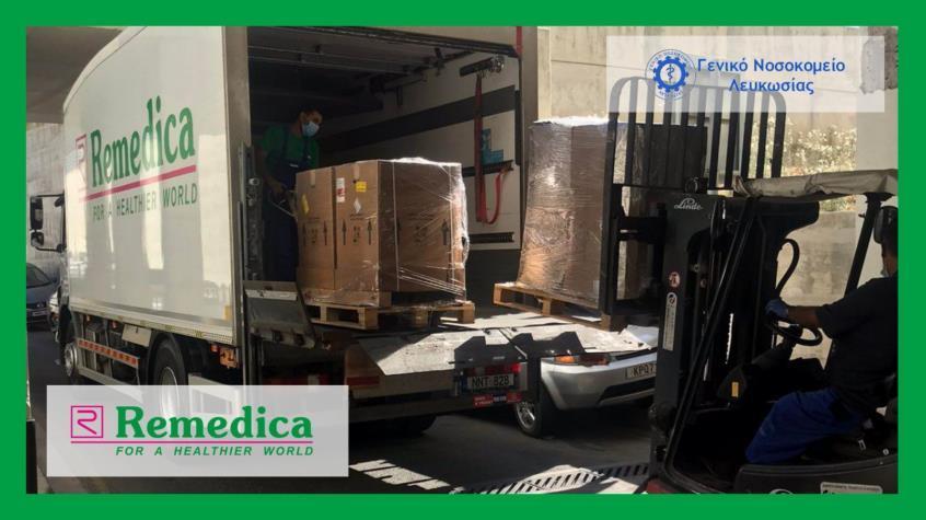 Δωρεά αναπνευστήρων στη Mονάδα Eντατικής Θεραπείας από την Remedica