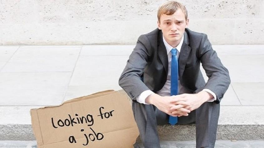 Ένας άνεργος άνδρας...