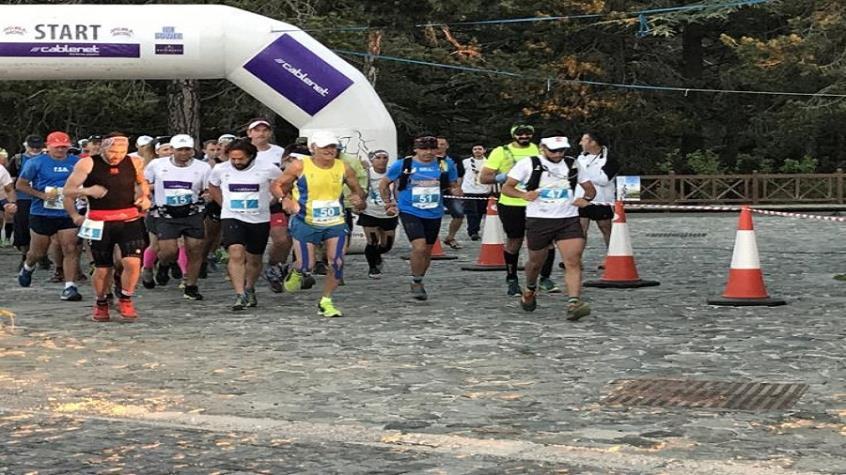 Πέραν των 400 δρομέων συμμετείχαν στους αγώνες «Cyprus Troodos Marathon» και «Troodos Green Race»