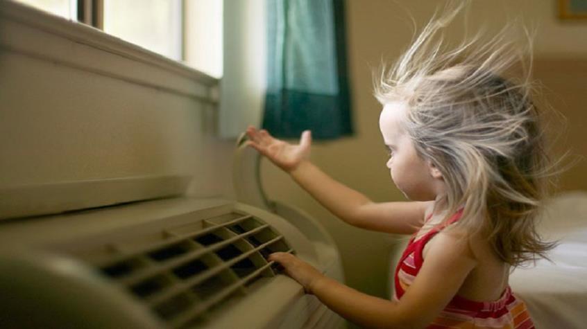 Παιδί - Καύσωνας και κλιματιστικά